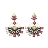 Dillen Pink Earrings