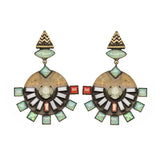 Dillen Yellow Earrings