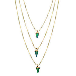 Avish Green Necklace