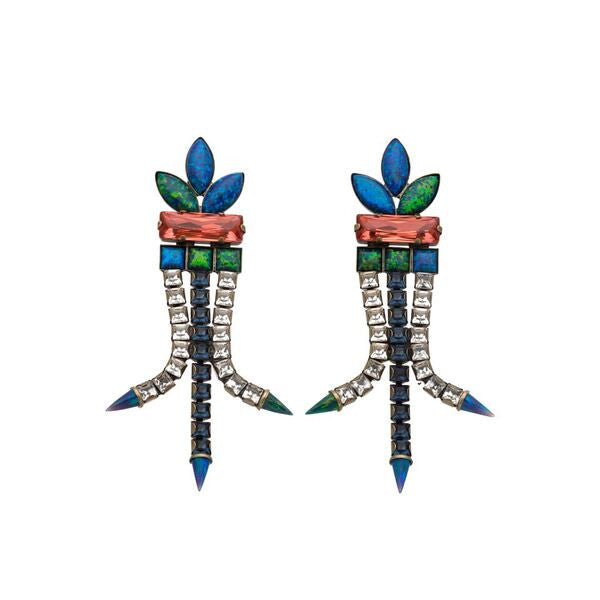Brazil Blue Earrings