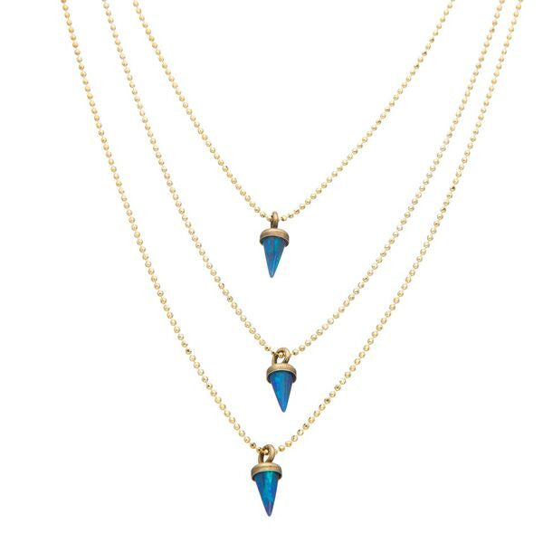 Avish Blue Necklace