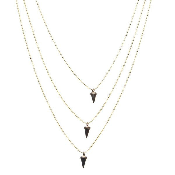 Avish Black Necklace