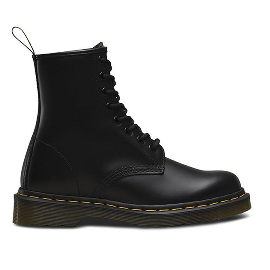 Dr. Martens 1460 8 Eye Boot- Black Smooth