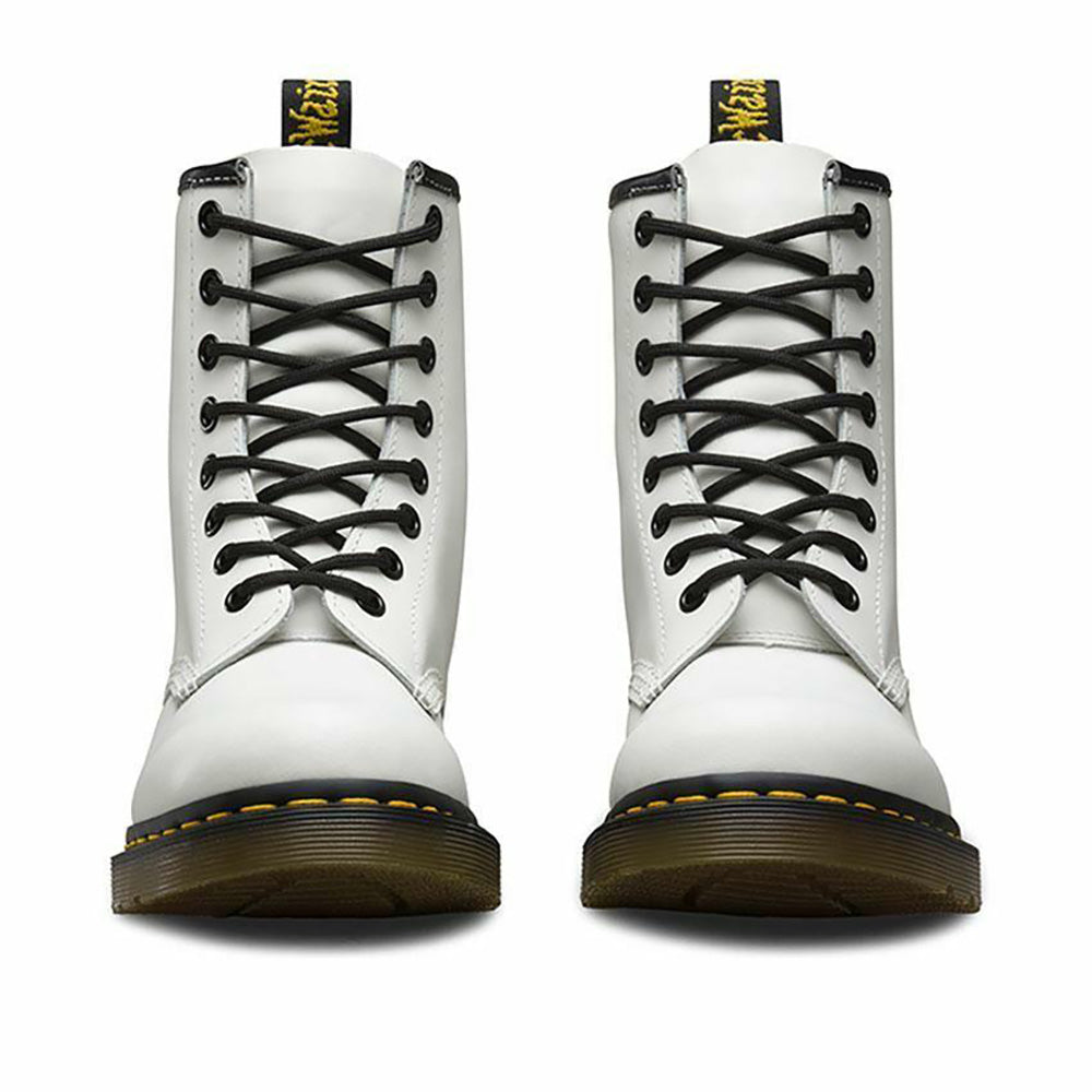 Dr. Martens 1460 8 Eye Boot - White Smooth