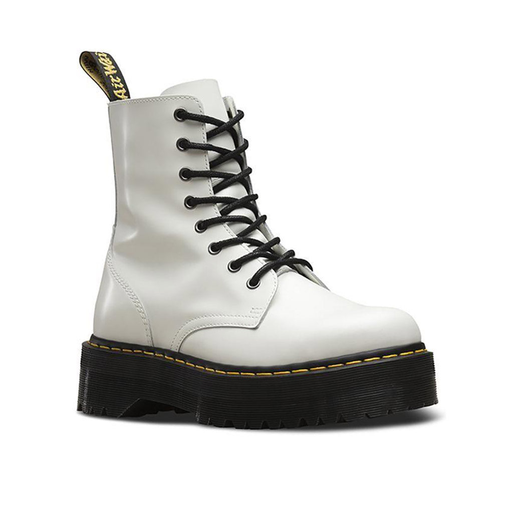 Dr. Martens Jadon 8 Eye Boot - White
