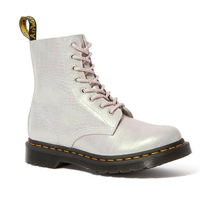 Dr. Martens 1460 Pascal Metallic Crocodile Leather - Pink