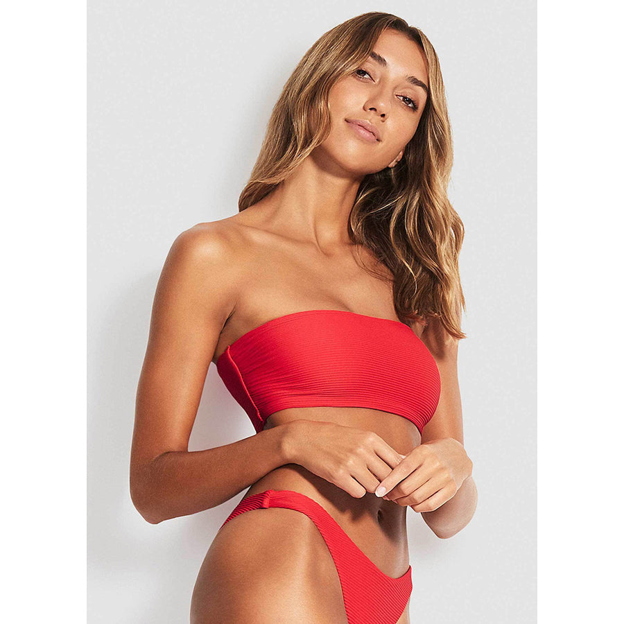 Seafolly Essentials Tube Bandeau Bikini Top