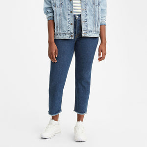 Levi's Wedgie Fit Straight Jeans - Below The Belt