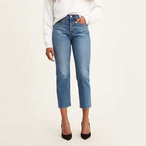 Levi's Wedgie Straight Jeans - Jive Sand