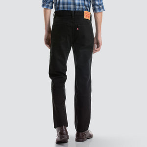 Levi's 516 Straight Fit Jeans - Black Rinse