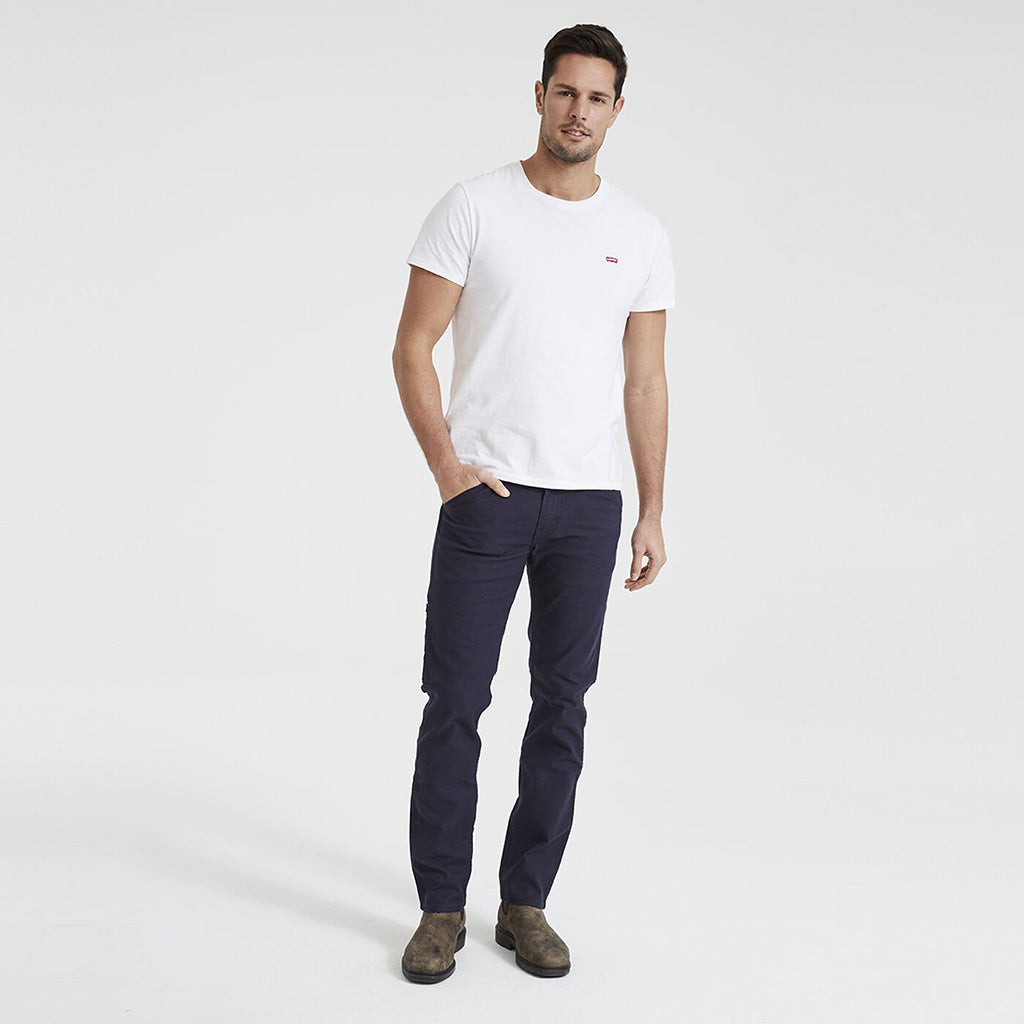 Levi's 511 Slim Fit Workwear Utility Pants - Nightwatch Blue Canvas