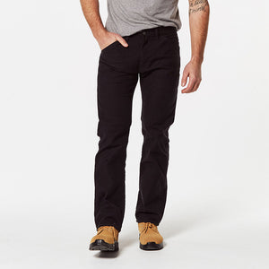 Levi's 511 Slim Fit Workwear Pants - Black Canvas