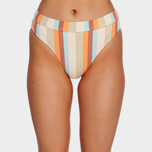Billabong Rainbow Stripe Maui Rider Bikini Bottoms