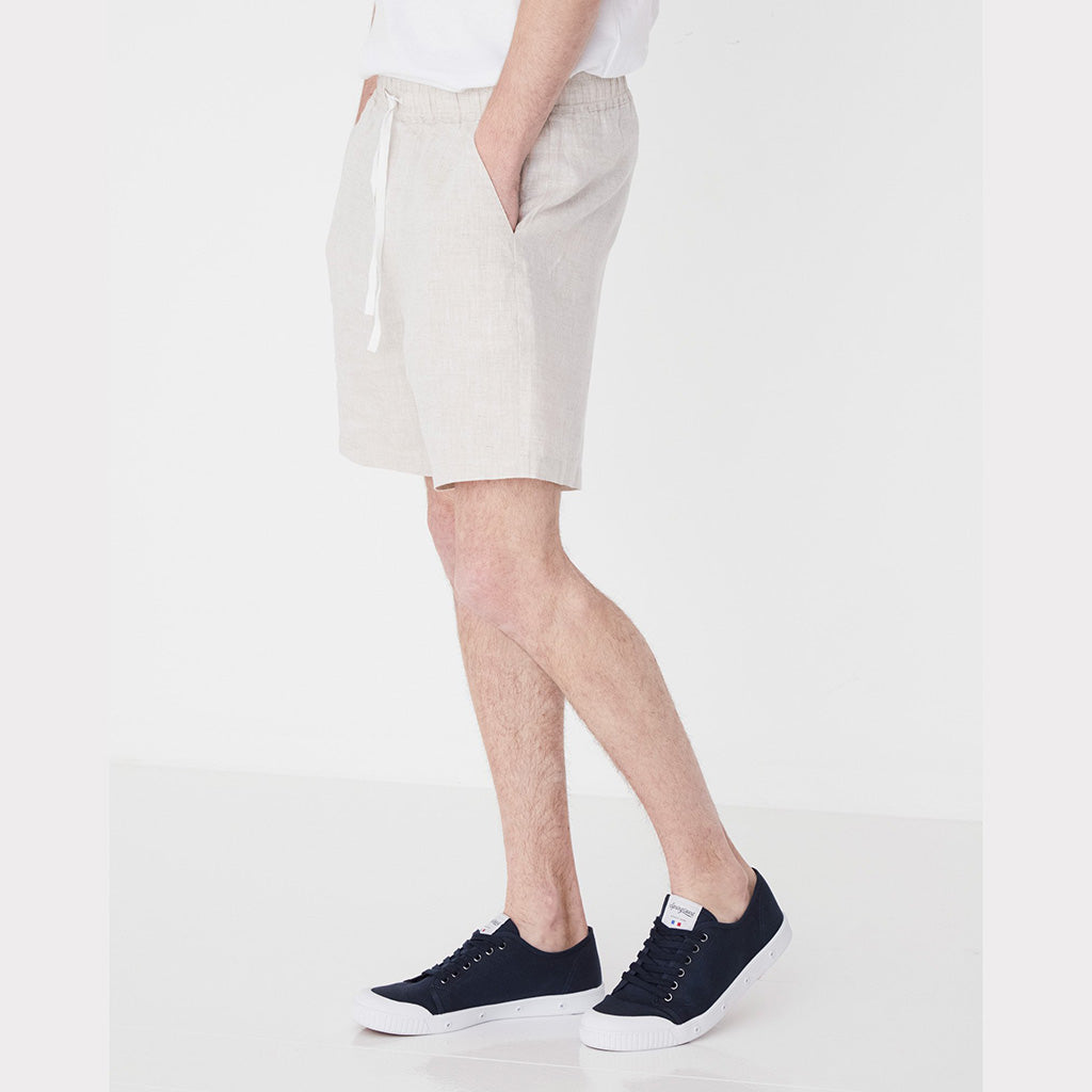Assembly Label Contrast Linen Short