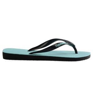 Havaianas Original Black/Black/Blue Thongs