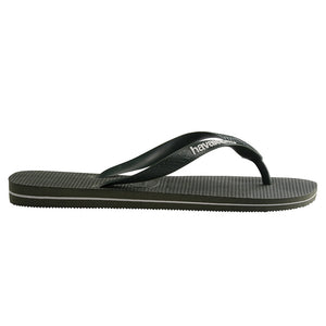 Havaianas Rubber Logo Olive Green Thongs