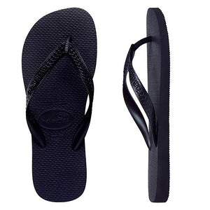 Havaianas Top Black Thongs