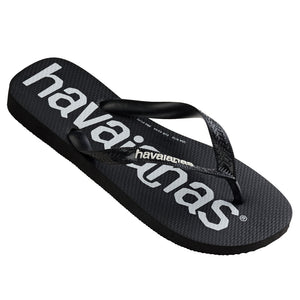 Havaianas Top Logo Mania Black Thongs