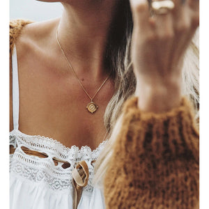 Kirstin Ash Sail Away Coin - 18k Rose Gold Vermeil
