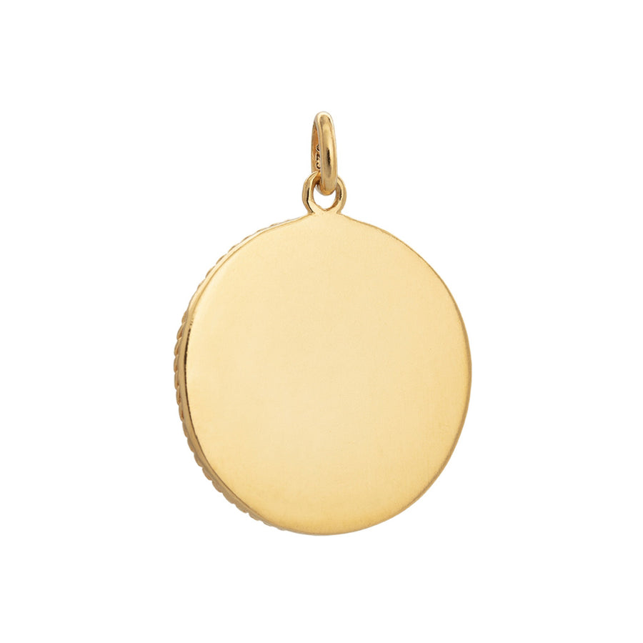 Kirstin Ash Treasure Coin - 18k Gold Vermeil