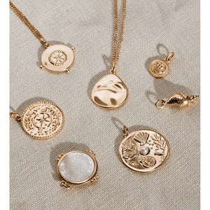 Kirstin Ash Treasure Coin - 18k Rose Gold Vermeil