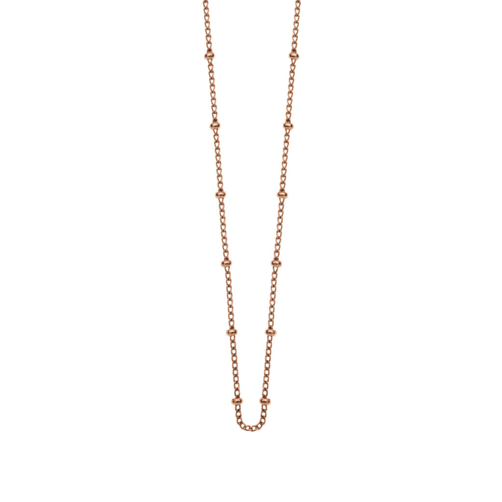 Kirstin Ash Bespoke Ball Chain - 18k Rose Gold Vermeil