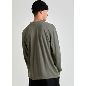 Afends Essential Hemp Retro Fit Long Sleeve Tee
