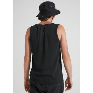 Afends Foundation Hemp Rib Singlet