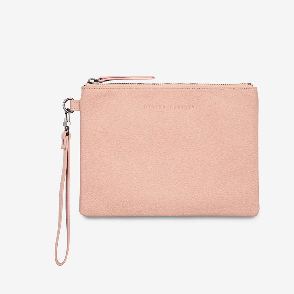 Status Anxiety Fixation Wallet - Dusty Pnk
