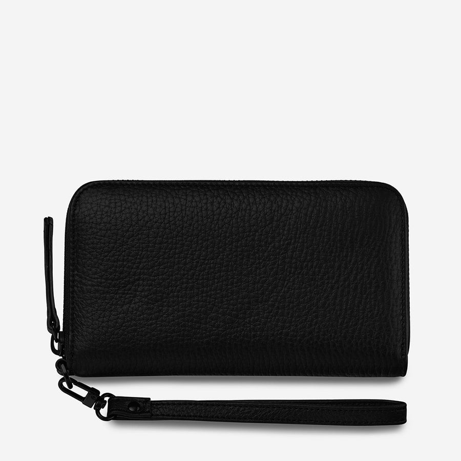 Status Anxiety Moving on Wallet - Black