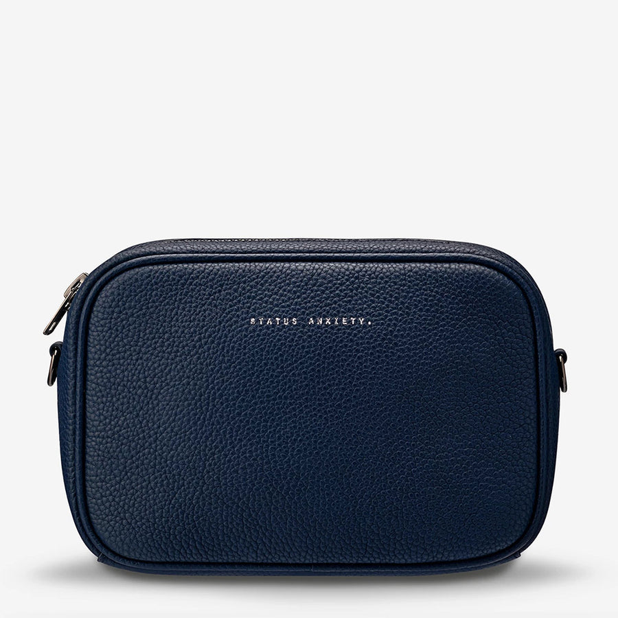 Status Anxiety Plunder Bag - Navy Blue