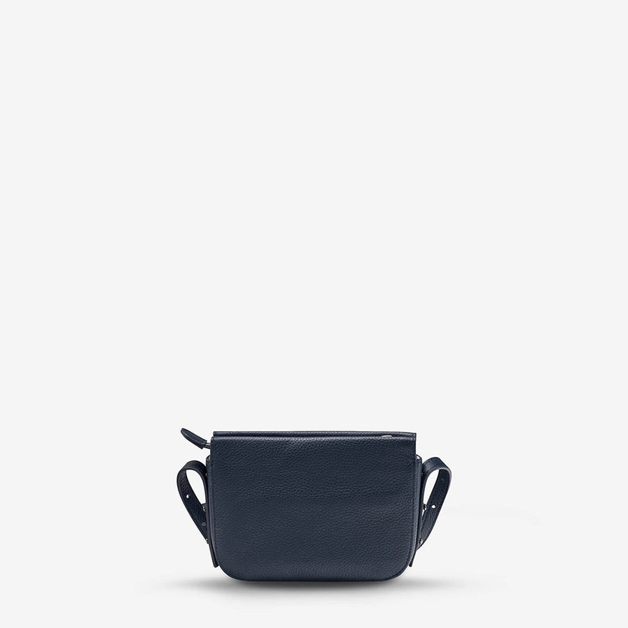 Status Anxiety in Her Command Bag - Navy Blue