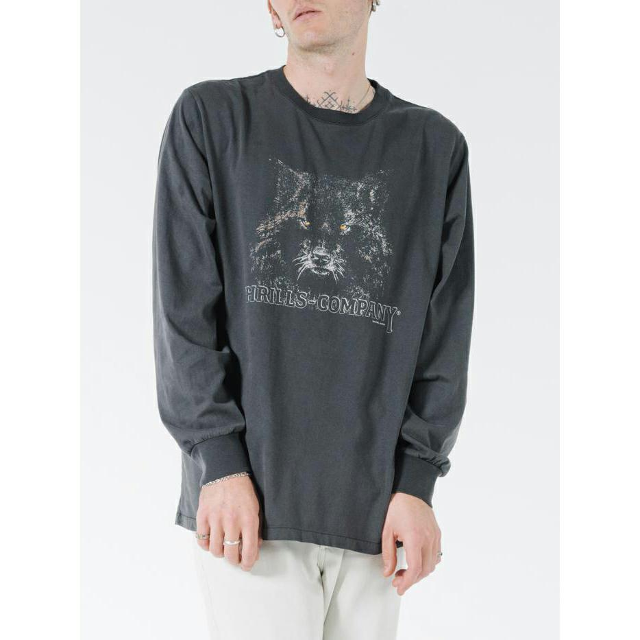 Thrills Shades of Wolf Merch Fit Long Sleeve Tee
