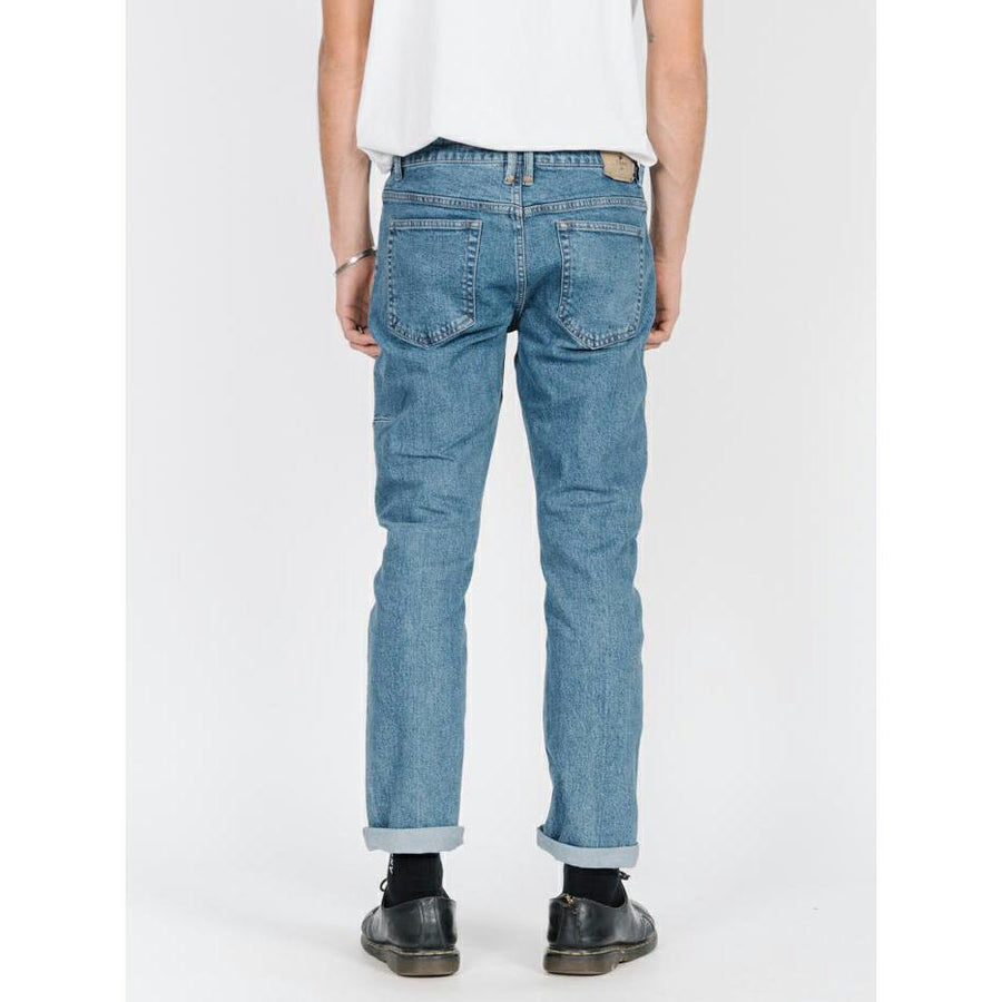 Thrills Bones Denim Jeans - Rinsed Blues