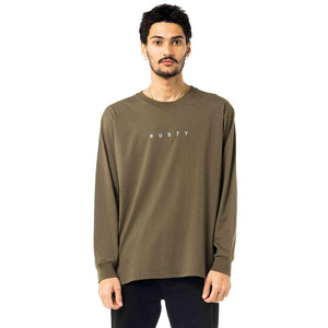 Rusty Short Cut Long Sleeve Tee