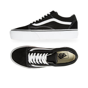 Vans Old Skool Platform - Black/White