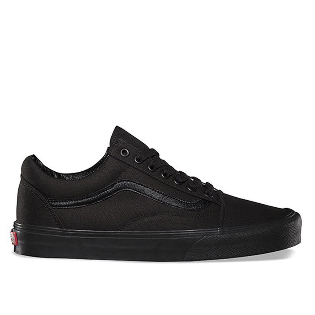 Vans Old Skool- Blk/Blk Canvas