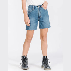 Thrills Thelma Short- Rinsed Blue