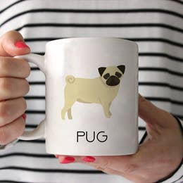 Copy of Fawn Pug Ceramic Mug 15 oz