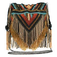Festival Beaded Crossbody Handbag by Mary Frances