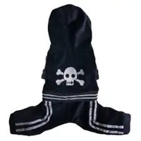 Black Skully Jumper by Pooch Outfitters