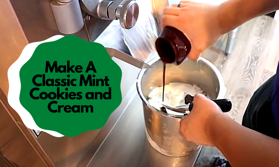 We Made A Classic Mint Cookies and Cream!