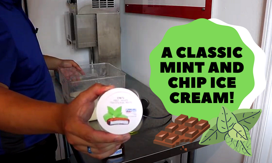 Let Electro Freeze Show You How To Make A Classic Mint Chocolate Chip!