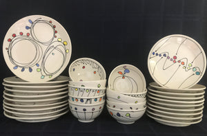 Custom Place Setting of 10 (Short Bowls)