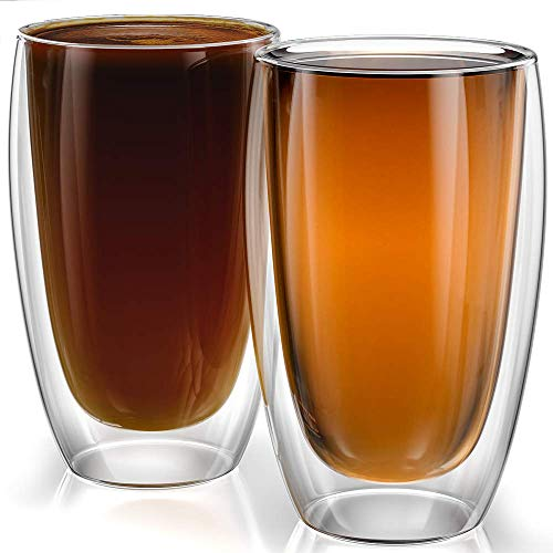 15oz Cups Sicilia Collection - Set of 2 - Double walled Cups