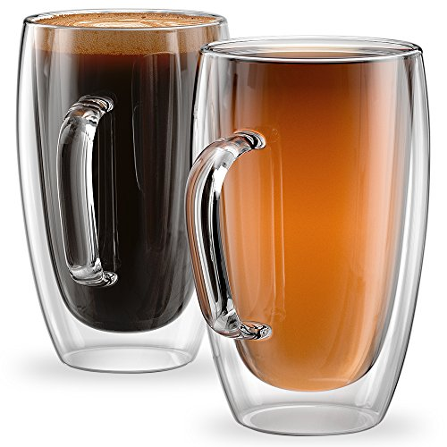15oz Mugs Sicilia Collection - Set of 2 Double Wall Mugs
