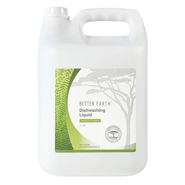 Better Earth Natural Cleaning Products Dish Washing Liquid