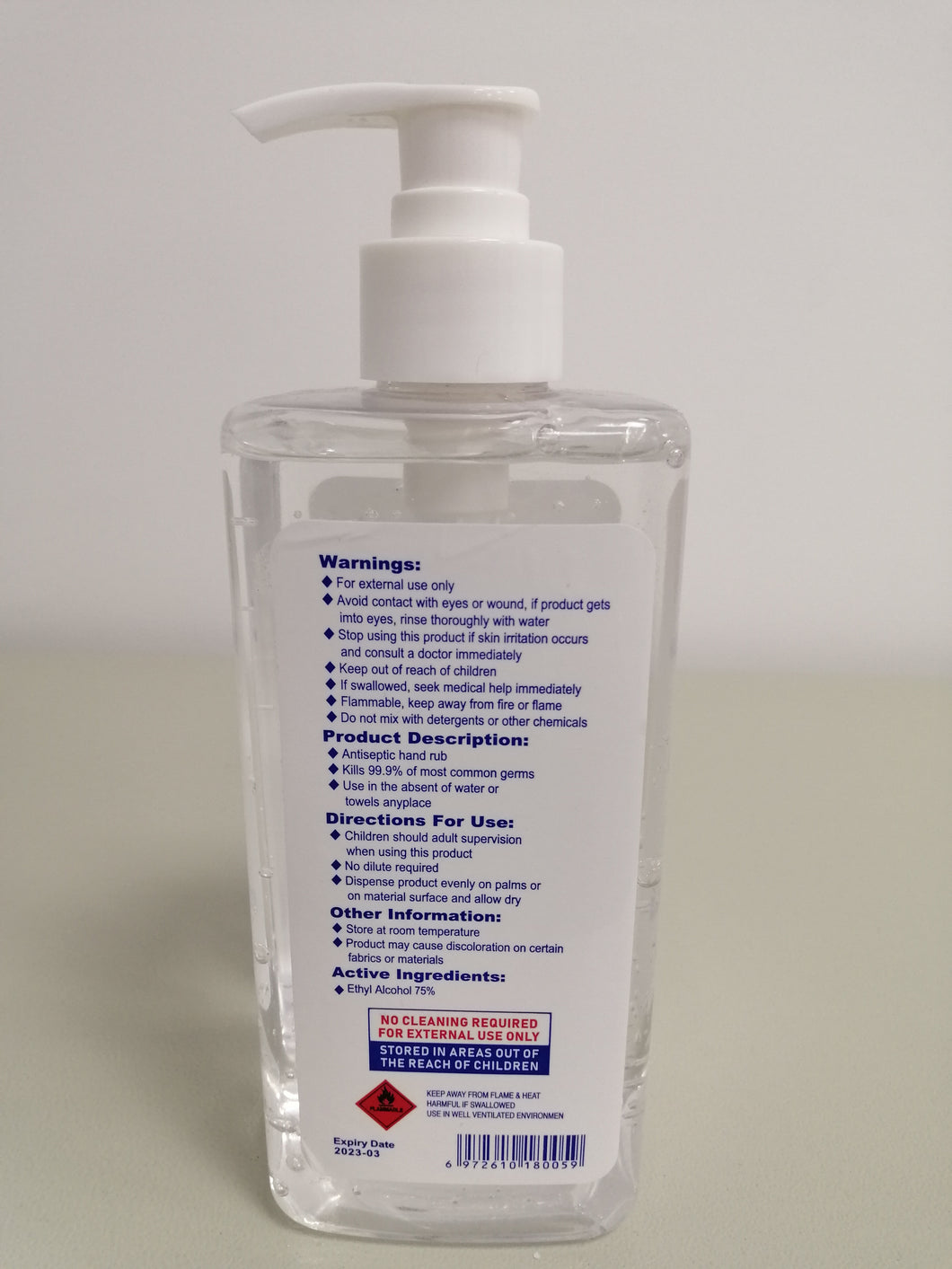 ZC Hand Sanitizer 50ml/ 500ml