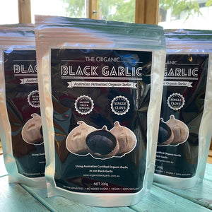 Organic Black Garlic