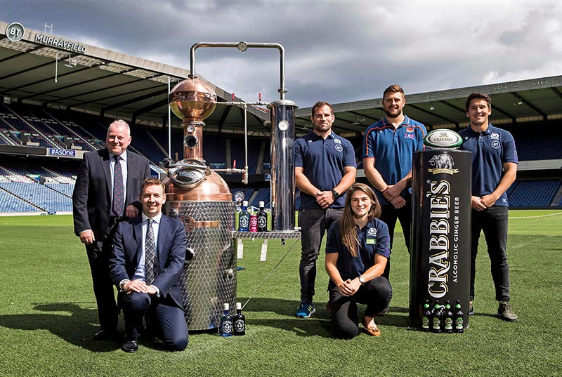 Crabbie's and Scottish Rugby partnership